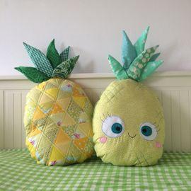 Foto zu Schnittmuster Ananas-Quilt-Kissen von COSY_things