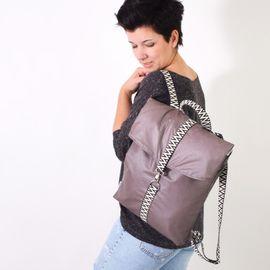 Foto zu Schnittmuster MESSENGER.rucksack von Leni Pepunkt