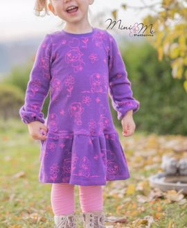 Foto zu Schnittmuster Mini&Me Winterdress Girls von Mini & Me Patterns