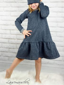 Foto zu Schnittmuster Mini&Me Winterdress Girls von Mini & Me Patterns