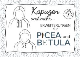 Produktfoto von Fabelwald für Schnittmuster Kapuzen und mehr - Erweiterung für BETULA und PICEA