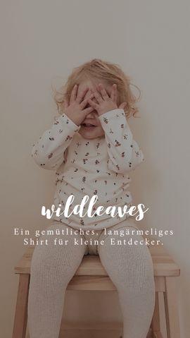 Foto zu Schnittmuster Kindershirt Wildleaves von Naturfaden