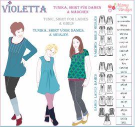 Foto zu Schnittmuster Violetta von Mamu Design