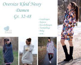 Foto zu Schnittmuster Oversizekleid Nessy Damen von 3fachFrein