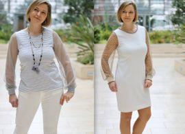 Foto zu Schnittmuster Shirt/Kleid Lacona von drei eMs