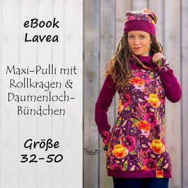 Foto zu Schnittmuster Lavea - Longpulli für Damen von Bunte Nähigkeiten