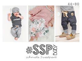 Foto zu Schnittmuster #SSP Baby - schmale Sweatpants 44-80 von rosarosa