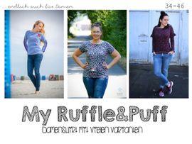 Foto zu Schnittmuster My Ruffle & Puff 34-46 von rosarosa