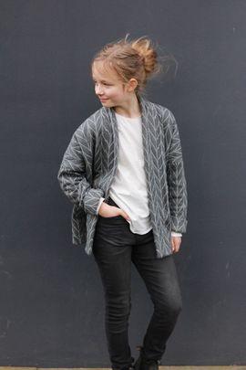 Foto zu Schnittmuster #103 Kimono Jacket Girls von Kid5