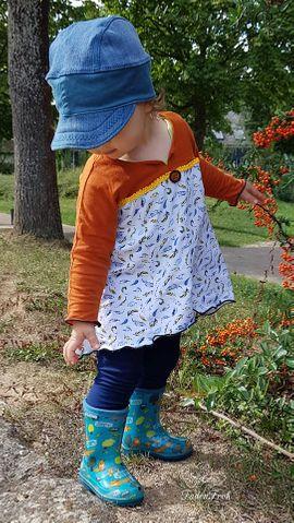 Produktfoto zu Kombi Ebook Ginger Mama Kind Raglan Kleiderschnitt von UnendlichSchön
