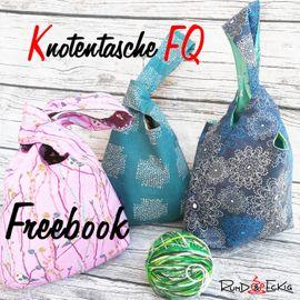 Foto zu Schnittmuster Knotentasche FQ von RUND und ECKIG