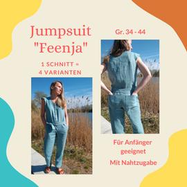 Foto zu Schnittmuster Jumpsuit Feenja von Henriette Herzblut