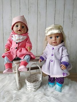 Foto zu Schnittmuster Dress up your Baby Doll Vol. 5 von Zwergnase-Design