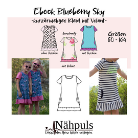 Foto zu Schnittmuster Kleid Blueberry Sky von Nähpuls