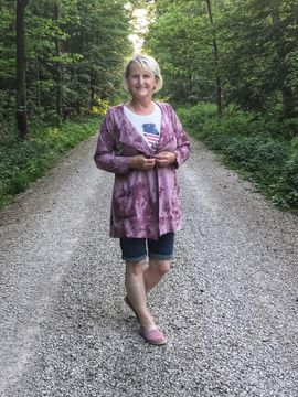 Produktfoto zu Kombi Ebook Cardigan Zahra & Basicoberteil Lilie von 34 - 56 von UnendlichSchön