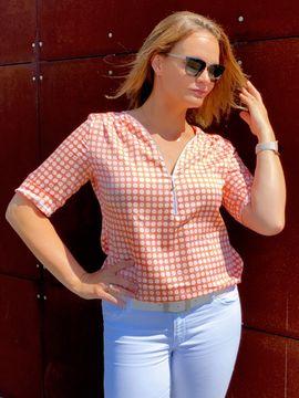 Foto zu Schnittmuster Bluse Rosanne von SchnittmusterLounge