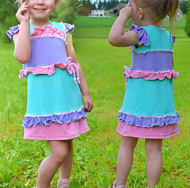 Foto zu Schnittmuster Kleid/Tunika Dala Girls von Rosalieb & Wildblau