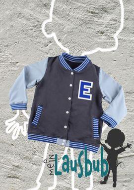 Foto zu Schnittmuster Elmo Collegejacke für Jungs von Mein Lausbub Schnittmuster