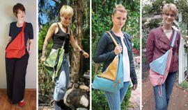 Foto zu Schnittmuster Eine-Beutel-Sling-Bag von AKkreativ