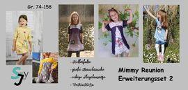 Produktfoto von Sillyjay für Schnittmuster Erweiterungsset 2 zu Mimmy 74-152