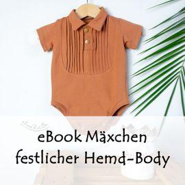Foto zu Schnittmuster Festlicher Hemd-Body von Bunte Nähigkeiten