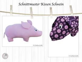Foto zu Schnittmuster Nackenkissen Schwein von CoelnerLiebe