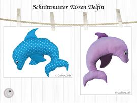Foto zu Schnittmuster Nackenkissen Delfin von CoelnerLiebe