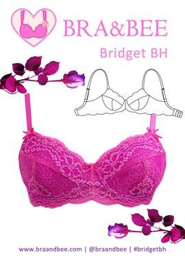 Foto zu Schnittmuster BH Bridget - Große Größen von Bra & Bee