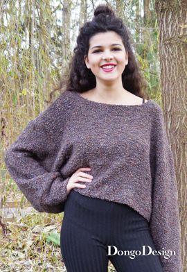 Foto zu Schnittmuster Supereasy Pullover Sarah von DongoDesign