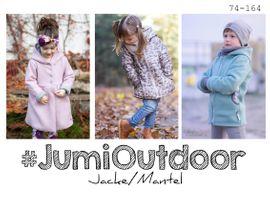 Foto zu Schnittmuster Jumi Outdoor Jacke von rosarosa