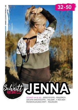 Foto zu Schnittmuster Pullover Jenna von Schnittrebell