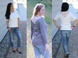 Foto zu Schnittmuster Shirt Milano von drei eMs