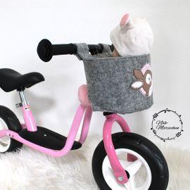 Foto zu Schnittmuster Puppen-Fahrradsitz Lovely Seat von LovelySewDesign