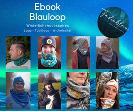 Produktfoto zu Kombi Ebook Blauer Winter von Fadenblau