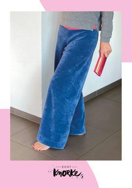Foto zu Schnittmuster Chilli Tilli Loungepants von echt Knorke