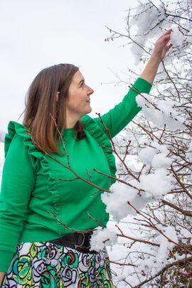 Foto zu Schnittmuster Engel im Schnee von einfach anziehend