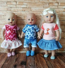 Foto zu Schnittmuster Dress up your Baby Doll Vol. 6 von Zwergnase-Design