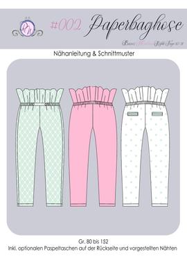 Produktfoto von Rosalieb & Wildblau für Schnittmuster Paperbag-Hose