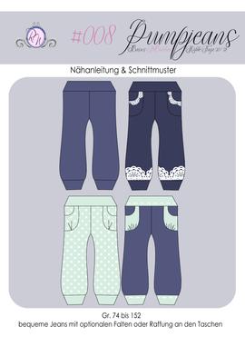 Produktfoto von Rosalieb & Wildblau für Schnittmuster Pumpjeans
