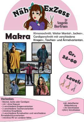 Foto zu Schnittmuster Jacke Makra von Näh-Exzess by Angela Bertram