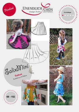 Foto zu Schnittmuster Drehrock SalixMini von Unendlich schön - Design Anita Lüchtefeld