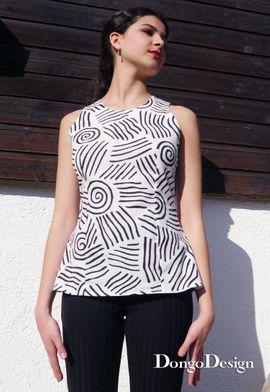 Produktfoto von DongoDesign für Schnittmuster Bluse Rimini
