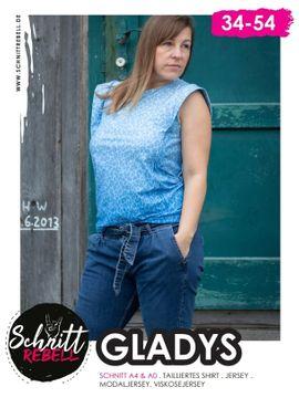 Produktfoto von Schnittrebell für Schnittmuster Shirt Gladys