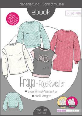 Produktfoto von ki-ba-doo für Schnittmuster Flügel-Sweater Fraya