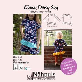 Foto zu Schnittmuster Daisy Sky - Pullover/T-Shirt/Kleid von Nähpuls