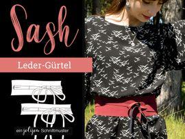Produktfoto von Jolijou für Schnittmuster Bindegürtel Sash