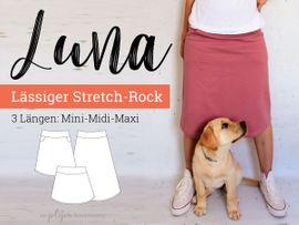 Produktfoto von Jolijou für Schnittmuster A-Linien-Rock Luna