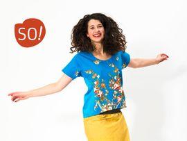 Foto zu Schnittmuster Kleid/Bluse Bluni von SO! Pattern