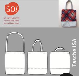 Foto zu Schnittmuster Tasche Isa von SO Pattern