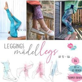 Foto zu Schnittmuster Leggings Mädel Legs von kiOo kiOo